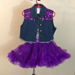 Other - Girls hip hop/jazz/tap dance costume